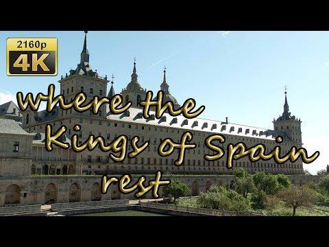 Royal Site of San Lorenzo de El Escorial - Spain 4K Travel Channel