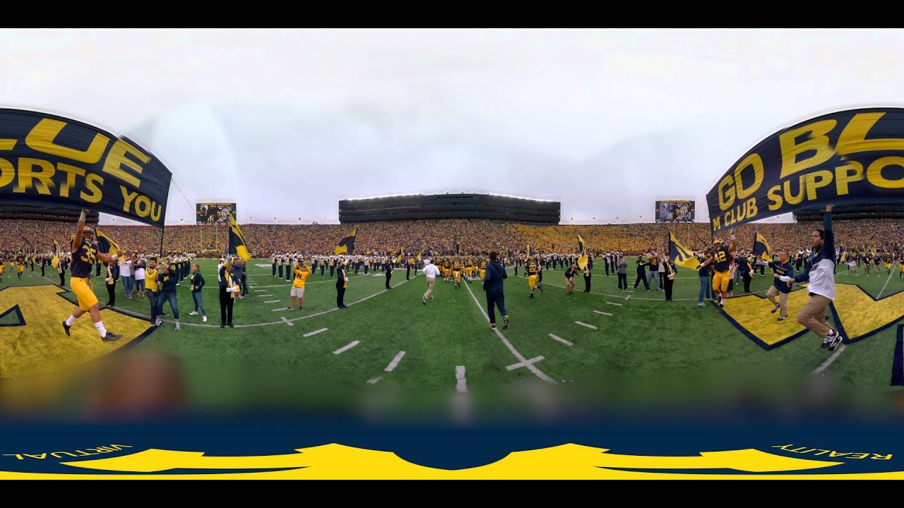 Michigan Gameday in VR