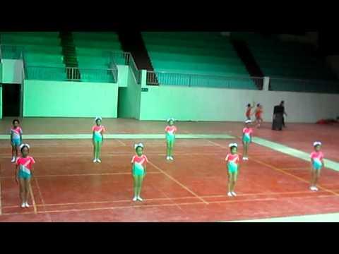 Aerobic bài thi bắt buộc - Tiểu học Đinh văn 5