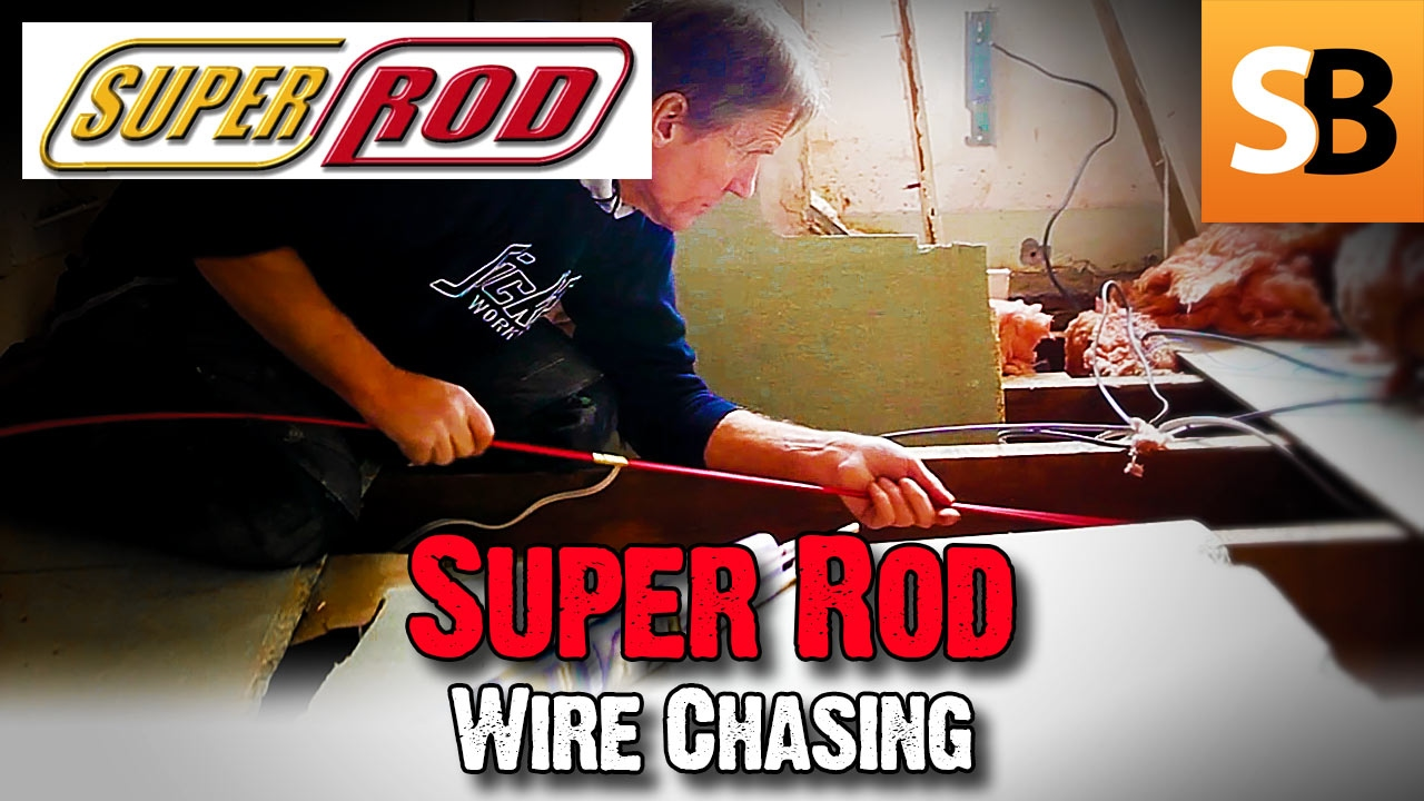 Running Cables With Super Rod Tricks Of The Trade Youtube Electrical Fishing Wire Through Walls Also