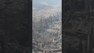 DUBAI SKYLINE VIEW IN MORNING# BURJ KHALIFA- DUBAI/UAE