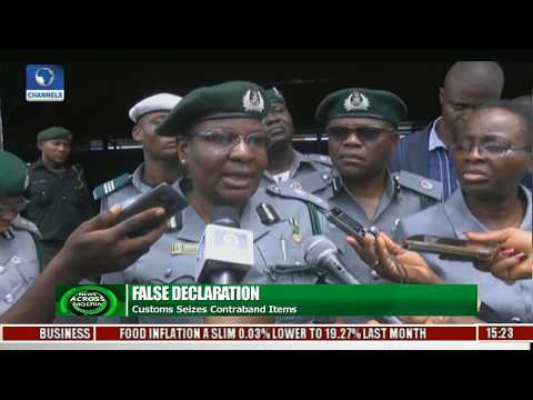 News Across Nigeria: Customs Seizes Containers Of Pharmaceutical Products Over False Declaration