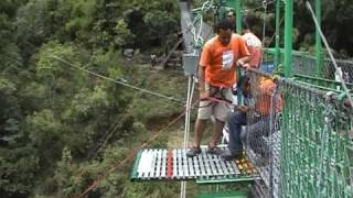 The Highest Rope Swing in the World!!! Nepal - Chander Jagadish