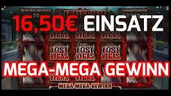 16,50€ Freispiele MEGA MEGA WIN @ LOST VEGAS