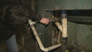 Landlord neglects raw sewage leak