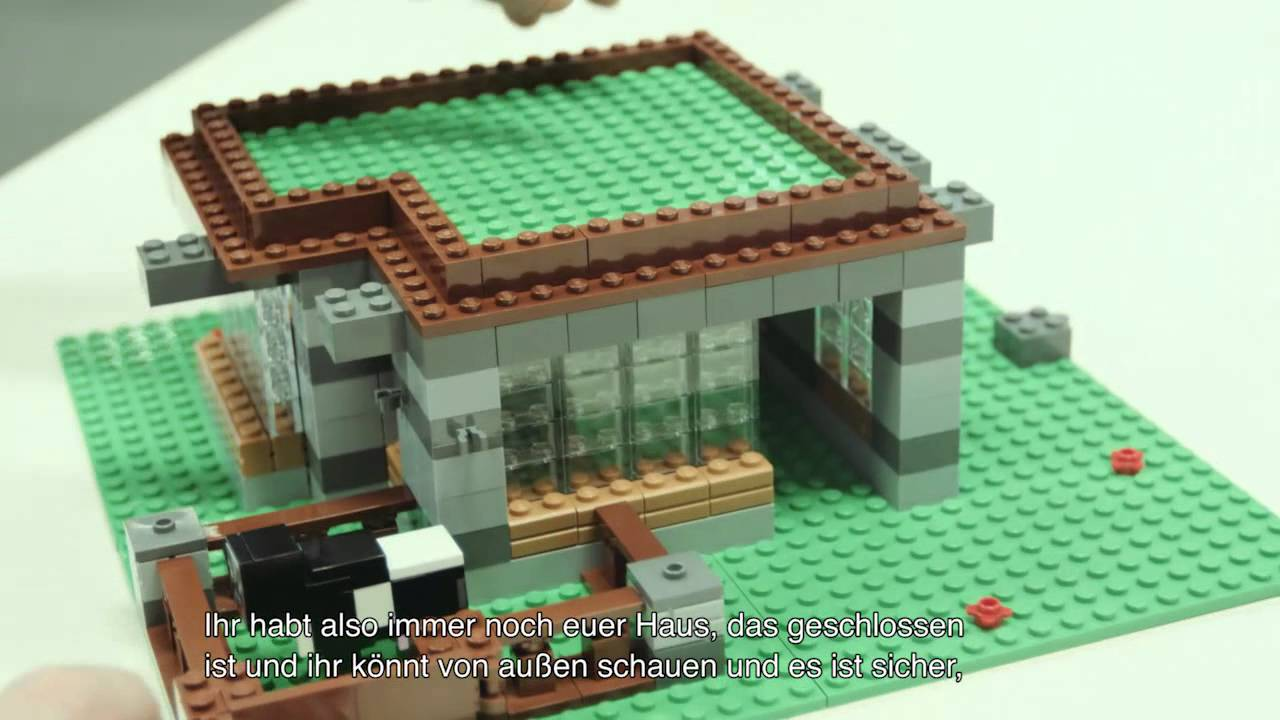 How To Build A Minecraft House Out Of Legos