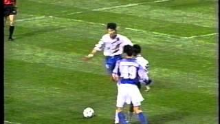 日本vs韓国 ダイナスティカップ'95 香港スタジアム