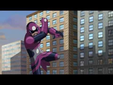 Человек Паук мультфильм на русском языке все серии подряд 1 сезон 1 - 26 серия