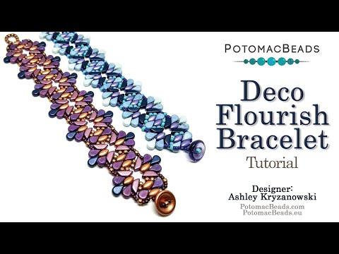 Deco Flourish Bracelet (Tutorial)