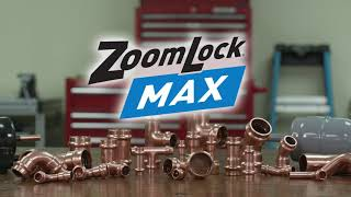 Parker's ZoomLock MAX Press-to-Connect Refrigerant Fittings
