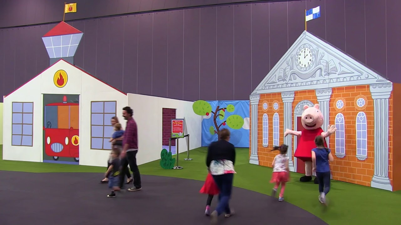 Peppa Pig Playdate Returns To Melbourne Melbourne With Kidz