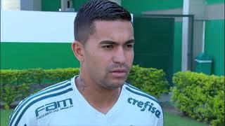Dudu, do Palmeiras, participa do Cruzadinha do EF