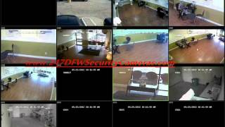 Home/Business Dallas Security Camera System Demo
