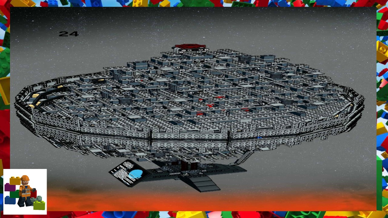 Lego Instructions Star Wars 10143 Death Star Ii Youtube