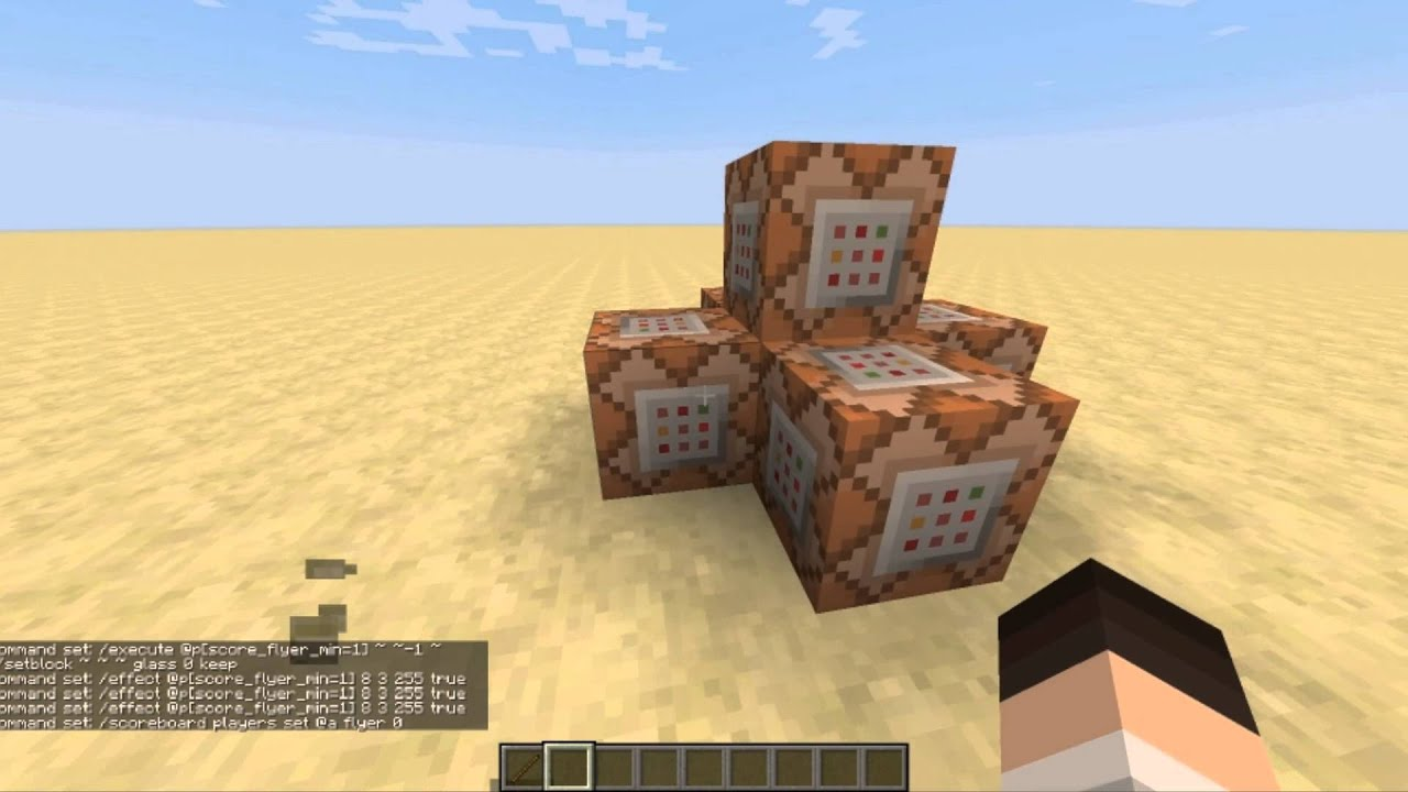 Fly in Survival Minecraft NO MODS YouTube