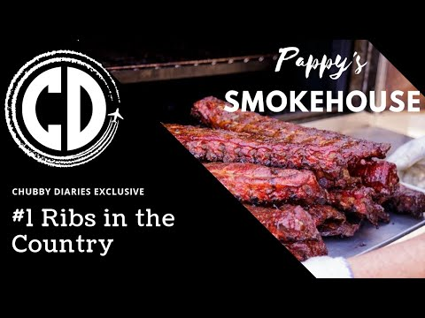 DOES PAPPY'S SMOKEHOUSE HAVE THE BEST RIBS IN THE NATION? CHUBBY DIARIES FOOD EXCLUSIVE!