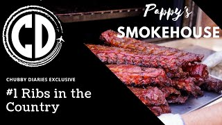 Chubby Diaries visits Pappy's Smokehouse! Best RIBS in America!!