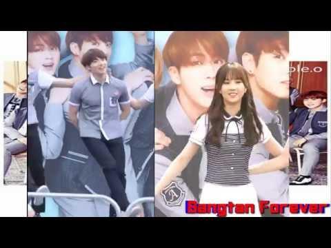 BTS Jungkook X Eunha GFriend ~ Smart Family Dance