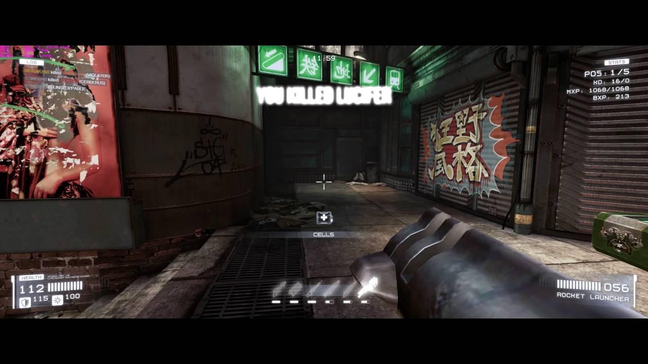 TOXIKK with Quake 3 weapons!!!