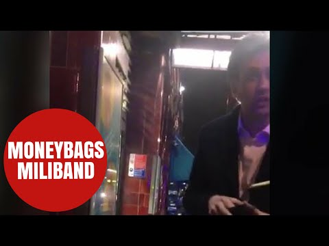 Ed Miliband gives homeless man £10 - after teens pointed him to ATM