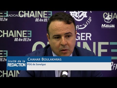 Chahar Boulakhras PDG de Sonelgaz