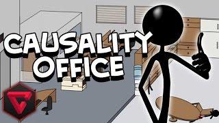 TRAGEDIA EN LA OFICINA -