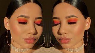Easy Sunset Makeup Tutorial♡