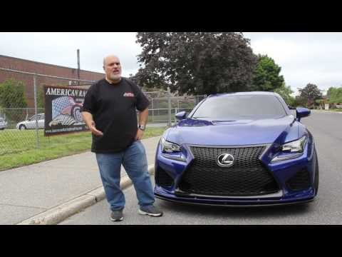 American Racing Headers Lexus RC-F 5 0-Liter V8 Exhaust Systems