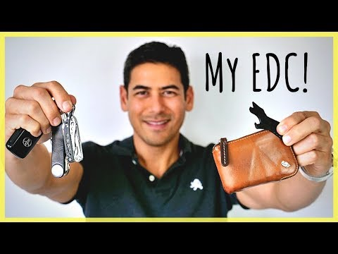My Everyday Carry (EDC) For Daily Life & Travel | Tools That Keep Me Organized, Safe, & Prepared