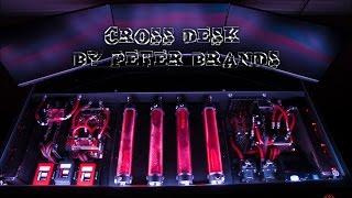 Redharbinger Cross desk by Peter Brands
