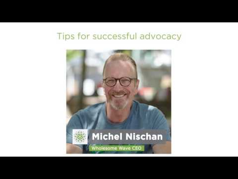 Tips for successful advocacy: Shed the anger