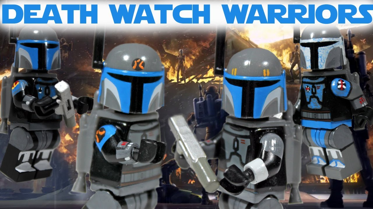 Custom lego star wars the clone wars mandalorian death watch custom lego star wars the clone wars mandalorian death watch part 1 youtube biocorpaavc Image collections