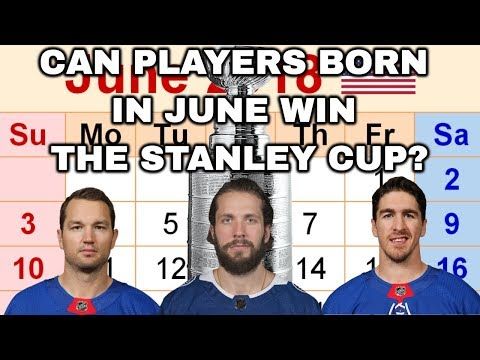 CAN A TEAM OF PLAYERS BORN IN JUNE WIN THE STANLEY CUP? | NHL 18 | ARCADE REGIMENT