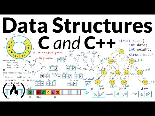 Data Structures - Full Course Using C and C++