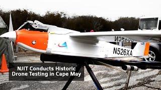 NJIT Studies Drones for Homeland Security, Emergency Management