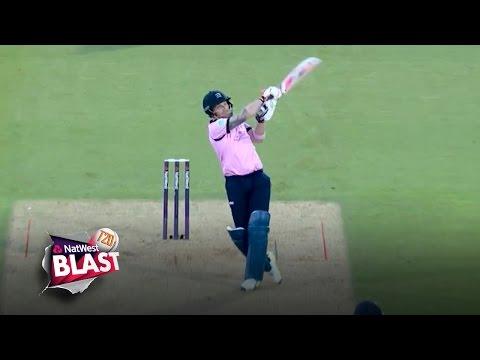 Huge McCullum six but Surrey claim bragging rights - NatWest T20 Blast