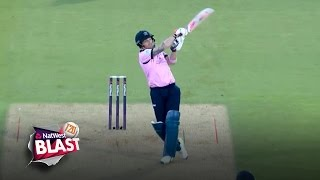 Huge McCullum six but Surrey claim bragging rights - NatWest T20 Blast