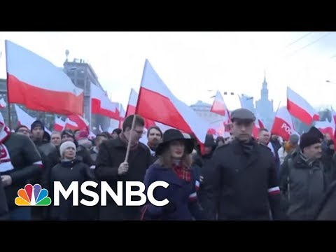 Why Are Polish Nationals Chanting Pro-Nazi Slogans? | Velshi & Ruhle | MSNBC