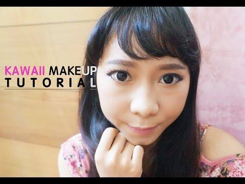 kawaii-makeup-tutorial-with-pixy-|-メイク
