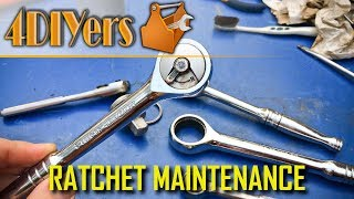 How to Disassemble, Clean & Lubricate Various Ratchets