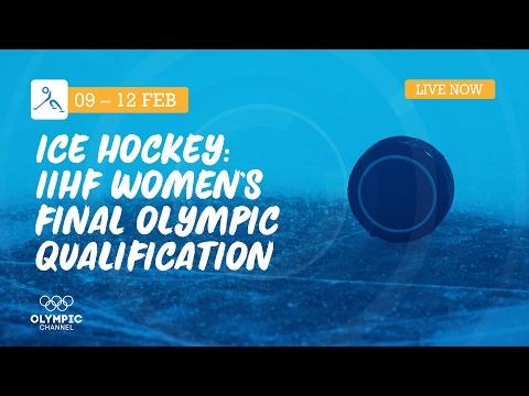RE-LIVE Ice Hockey | Czech Republic vs Denmark | IIHF Women's Final Olympic Qualification