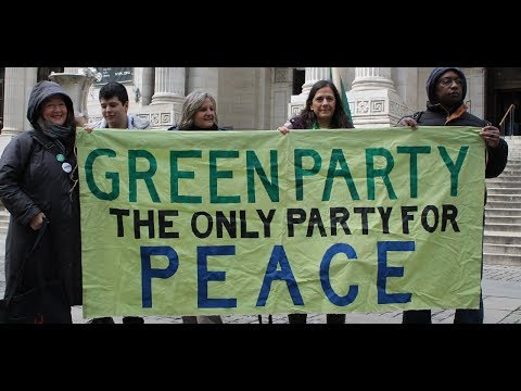 Impression of Green Party From Left Forum Lectures. REALLY Tough Love