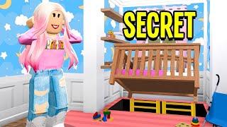 I Found A SECRET Under Baby Cari's CRIB! (Roblox Bloxburg)