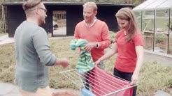 Finlayson - Pyyhkeiden kuivattaminen