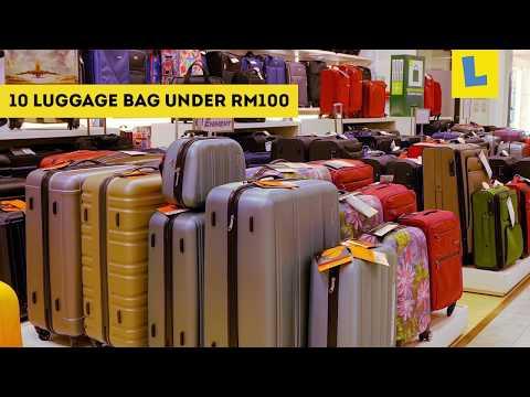 10 Luggage Bag Under RM100