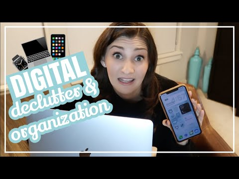 ORGANIZE YOUR PHONE AND LAPTOP WITH ME // Digital Organization 101 + Email Inbox 0