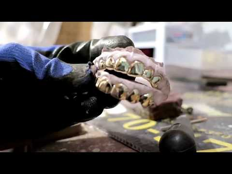 How To Make Gold Teeth Grillz (2018 Grillz Training Video Available)