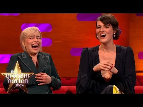 Emilia Clarke LOSES IT At Phoebe Waller-Bridge's Ridiculous Story  Graham Norton&39;s Good Story Guide