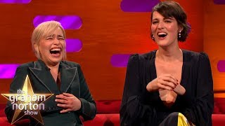 Download Emilia Clarke LOSES IT At Phoebe Waller-Bridge's Ridiculous Story | Graham Norton's Good Story Guide Mp3 and Videos