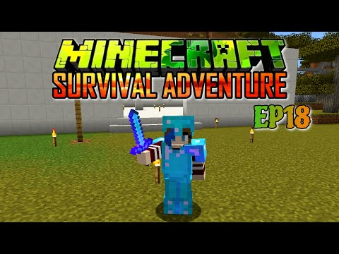 MINECRAFT SURVIVAL ADVENTURE EP18 | BUILDING A MUSEUM | RADIOJH GAMES